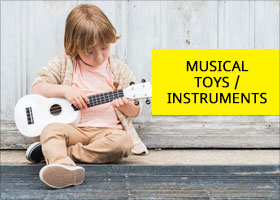 Musical Toys & Instruments for kids