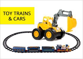 Toy Trains, Cars & Vehicles