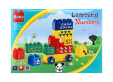Bebe Blocks Learning Numbers