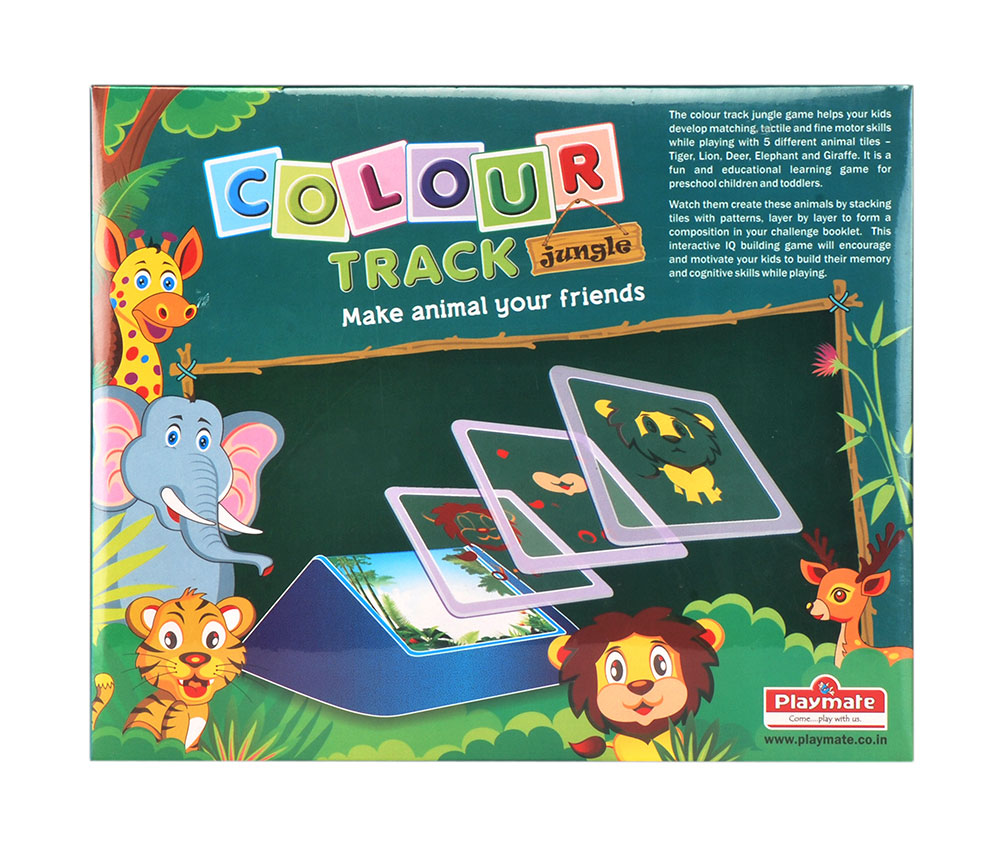 Buy Color Track Jungle Make Animal Your Friend Online In India ...