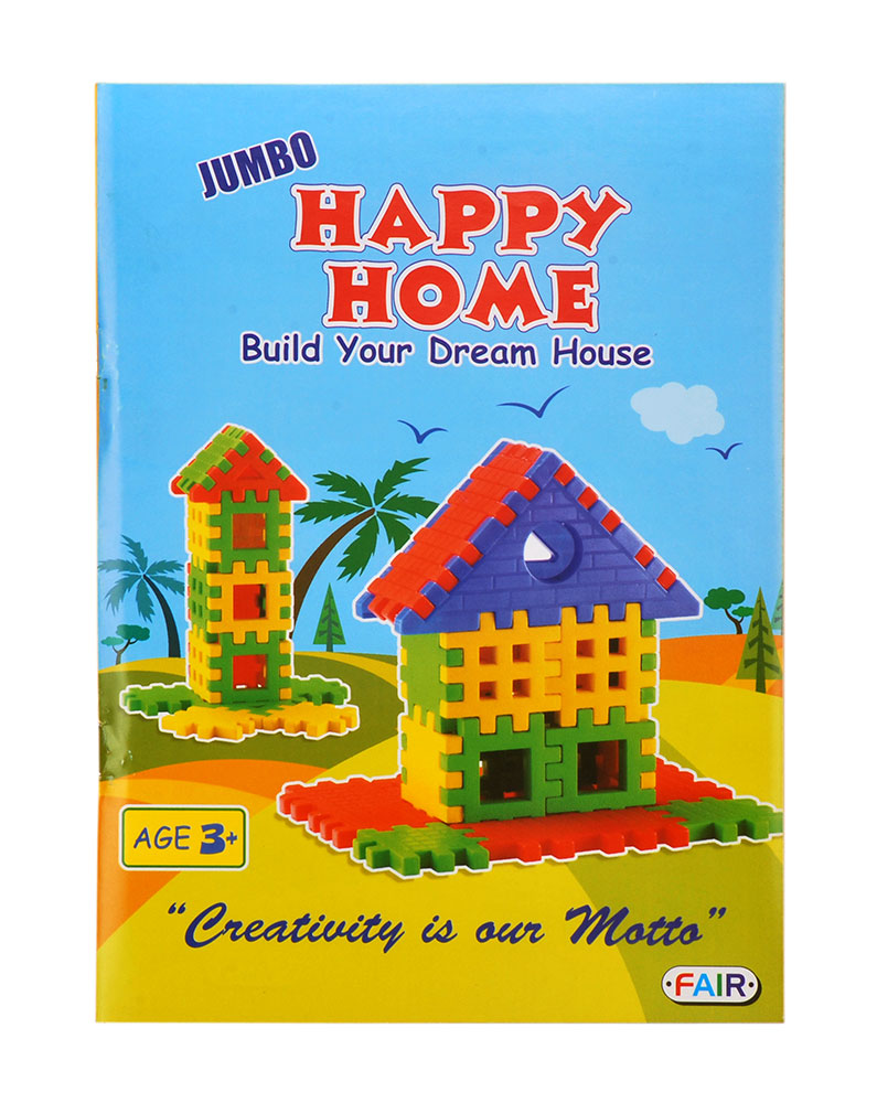 Buy Happy Home Build Your Dream House Jumbo Online In