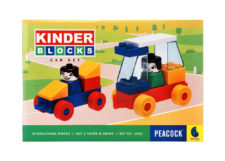 Kinder Blocks Car Set
