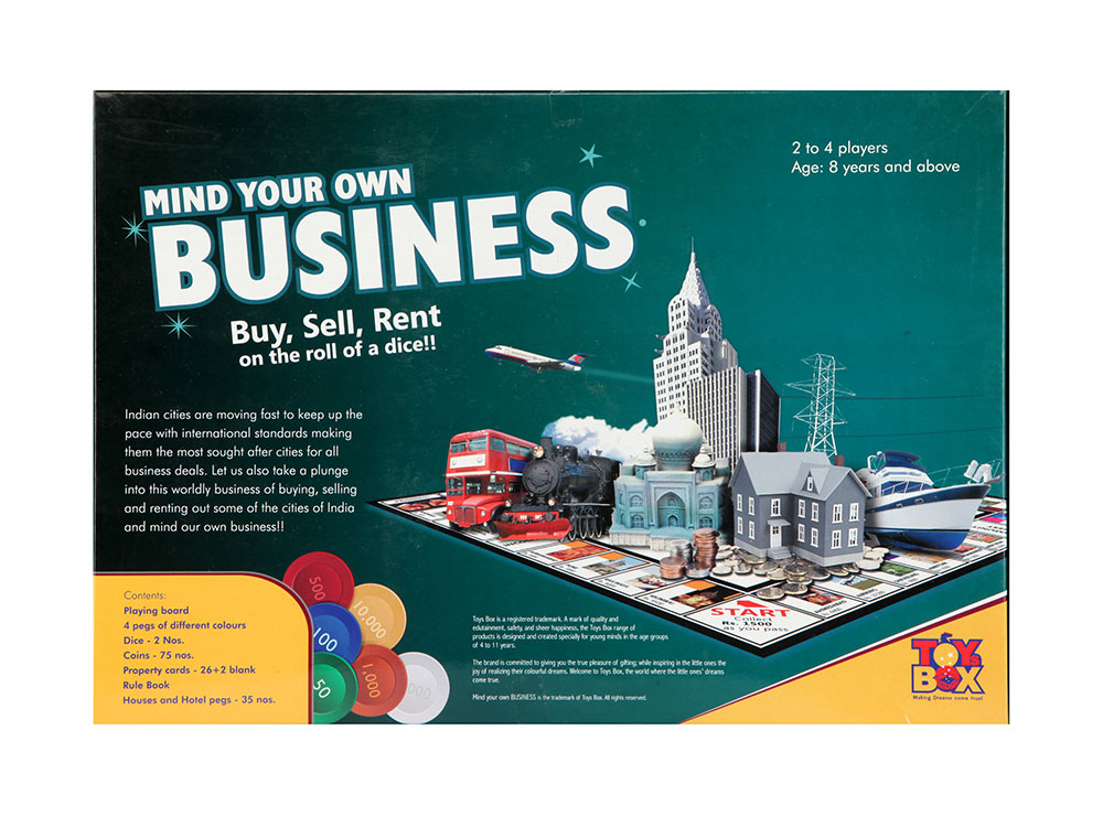 Buy Mind Your Own Business Silver Online In India