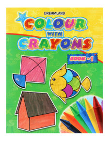 Colour With Crayons Book - Part 1