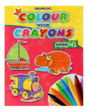 Colour With Crayons Book - Part 2