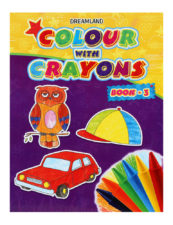 Colour With Crayons Book - Part 3