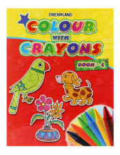 Colour With Crayons Book - Part 4