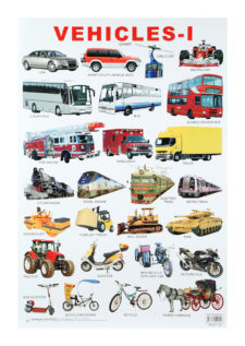 Dreamland Vehicles Chart - 1