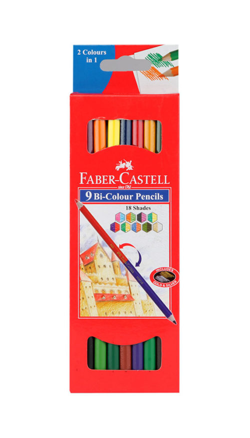 Faber Castell Bi Colour Pack Of 9