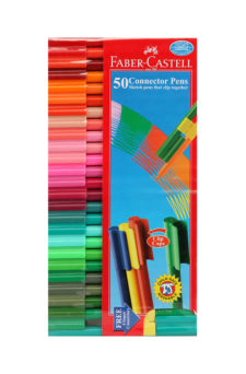 Faber Castell Connector Pen Pack of 50