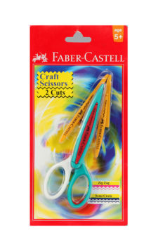 Faber Castell Craft Scissors 2-Cuts