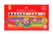 Faber Castel Wax Crayons 12 Colors