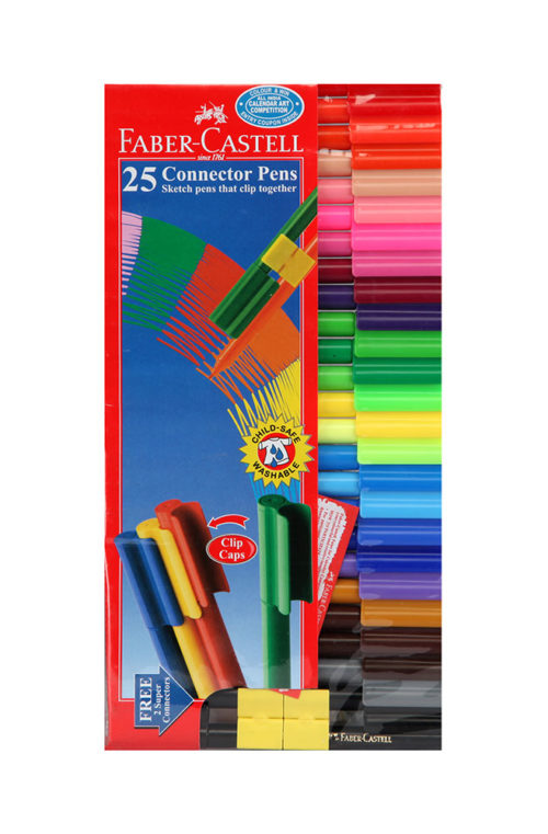 Faber Castell Connector Pen Pack of 25