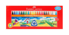 Faber Castell Erasable Crayons 70mm Pack of 25