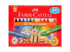 Faber-Castell-Wax-Crayons-Long-75mm-12-Colors-01