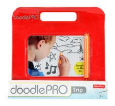 Fisher Price-Doodle Pro Travel Red Chn84