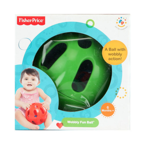 Fisher Price Wobbly Fun Ball 75612 - Green