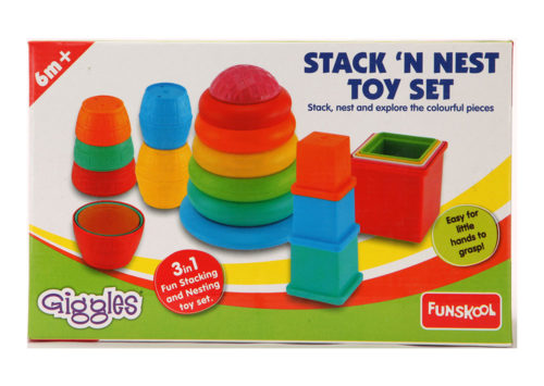 Funskool Stack N Nest Toy