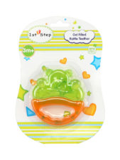 Gel Filled Rattle Teether Teddy 1st Step