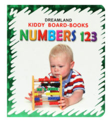 Kiddy Board Books Fun With Numbers 123