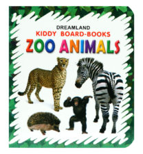 Kiddy Board Books: Zoo Animals