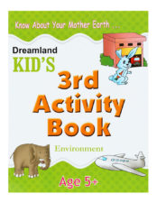 Know About Your Mother Earth - Kid's 3rd Activity Book - Environment