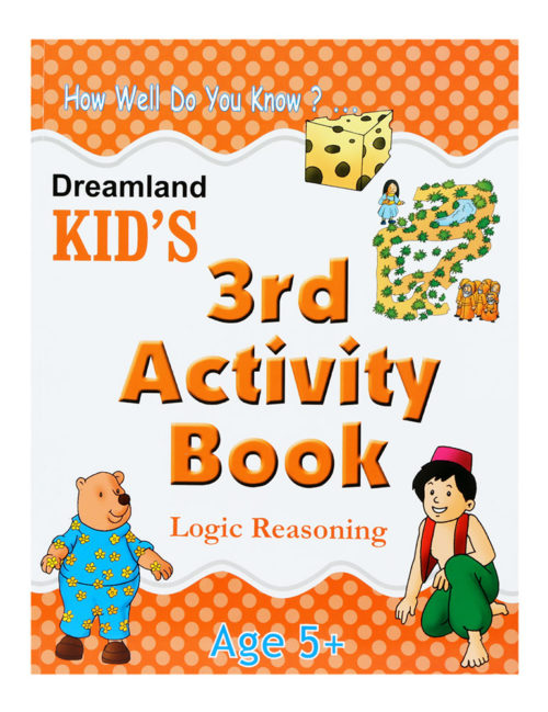How Well Do You Know? Kid's 3rd Activity Book- Logic Reasoning