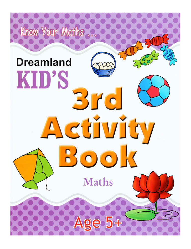 Buy Know Your Maths - Kid\'s 3rd Activity Book Online In India ...