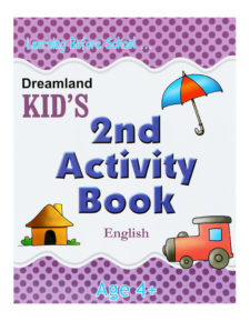 Learning Before School - Kid's 2nd Activity Book - English