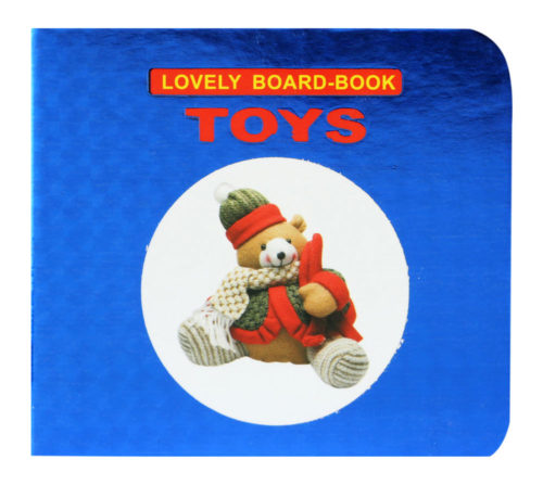 Lovely Board Book: Toys