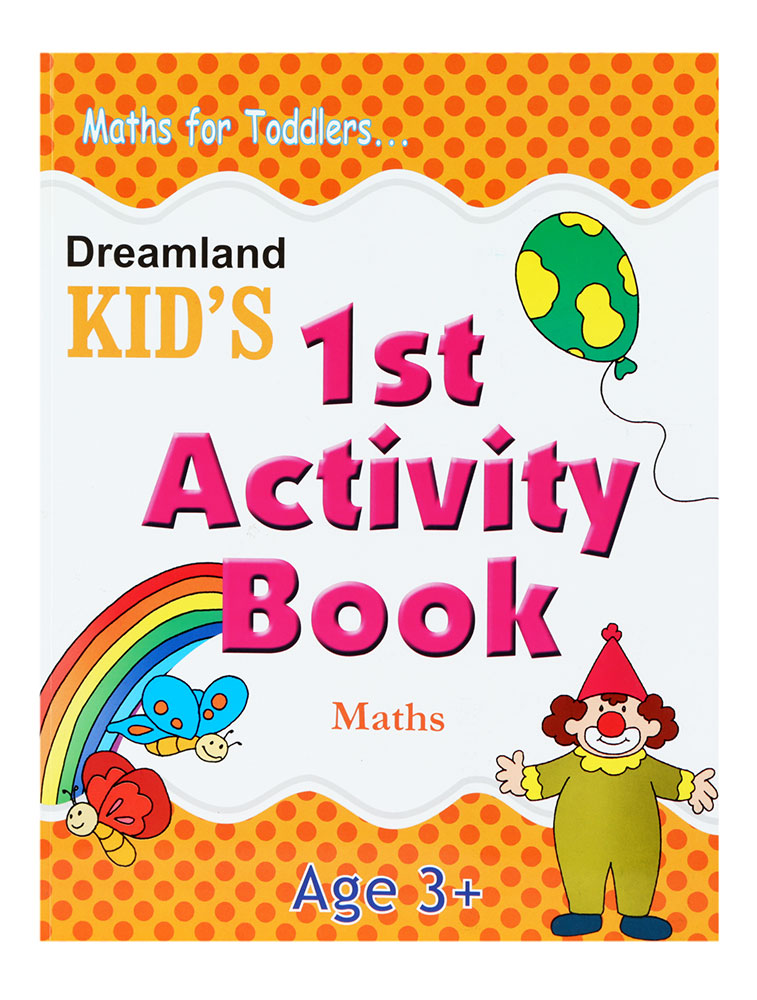 Buy Maths For Toddlers - Kid\'s 1st Activity Book Online In India ...