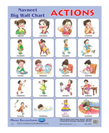 Navneet Actions Big Wall Chart