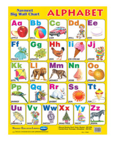 Navneet Alphabets Big Wall Chart