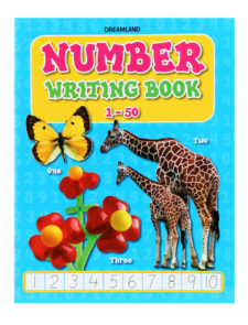 Number Writing Book 1-50