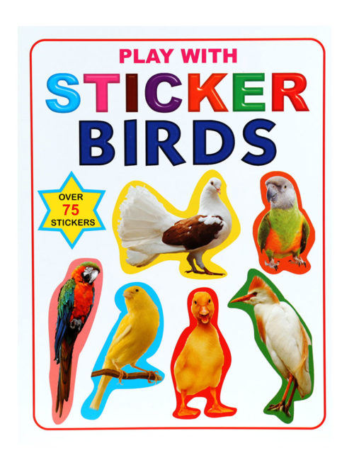 Play With Stickers Birds