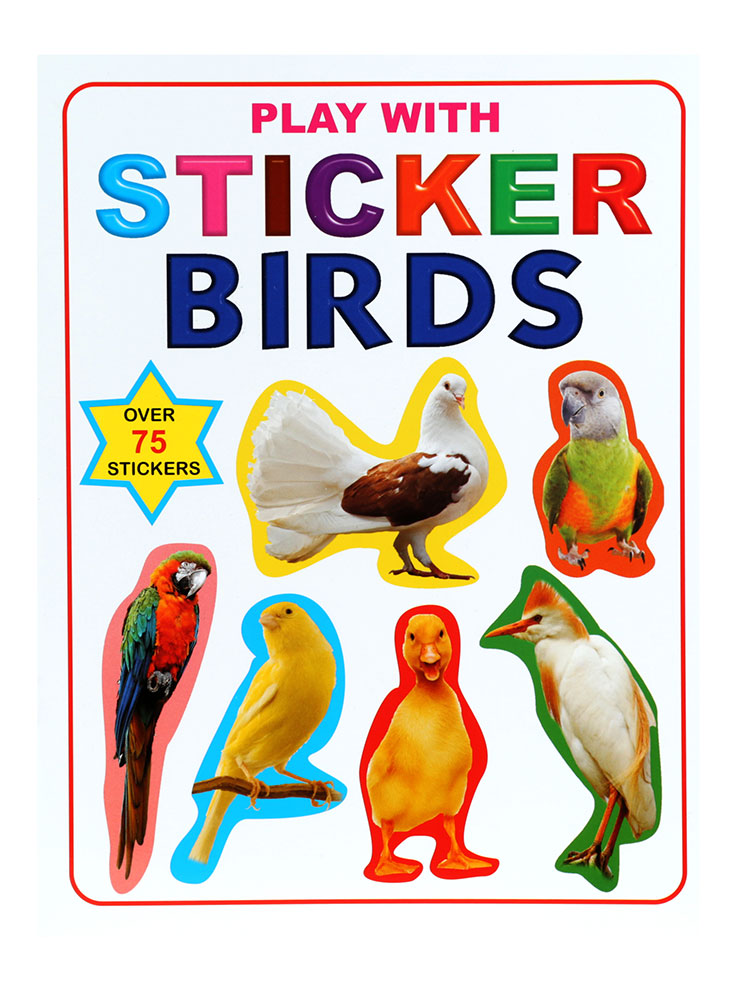 Buy Play With Stickers Birds Online In India Kheliya Toys