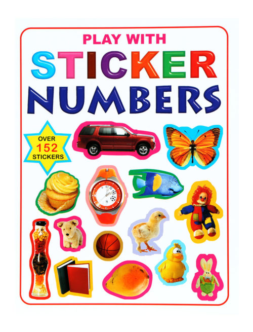 Play With Stickers Numbers