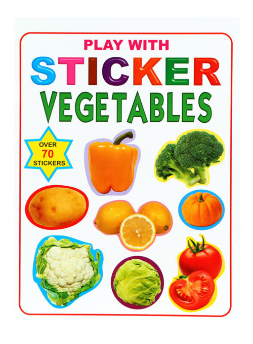 Play With Stickers Vegetables