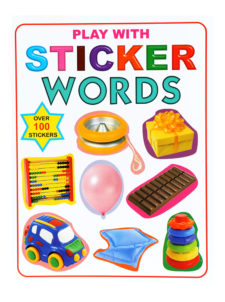 Play With Stickers Words