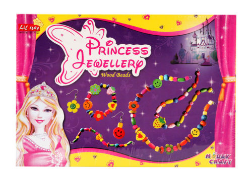 Princess Jewellery Wooden Beads