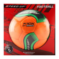 Speed Up Football Size 5 Kick Pro - Orange