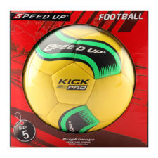 Speed Up Football Size 5 Kick Pro - Yellow
