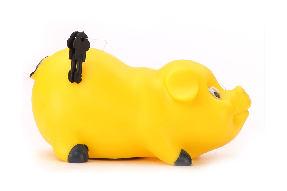 Buy Speedage Piggy Bank Mini Yellow Online In India
