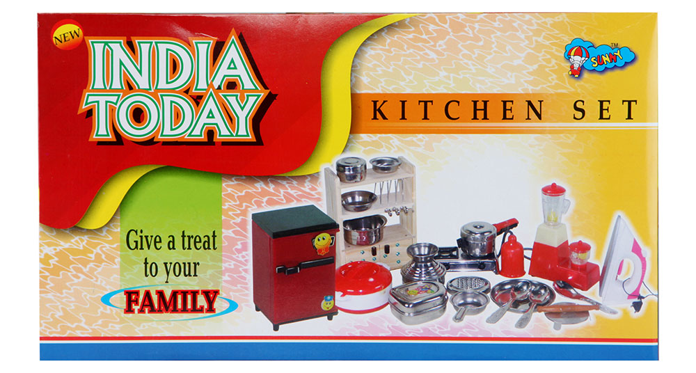 Buy Sunny India Today Kitchen Set Stainless Steel Online In India Kheliya Toys