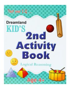 Test Your I.Q. - kid's 2nd Activity Book - Logical Reasoning