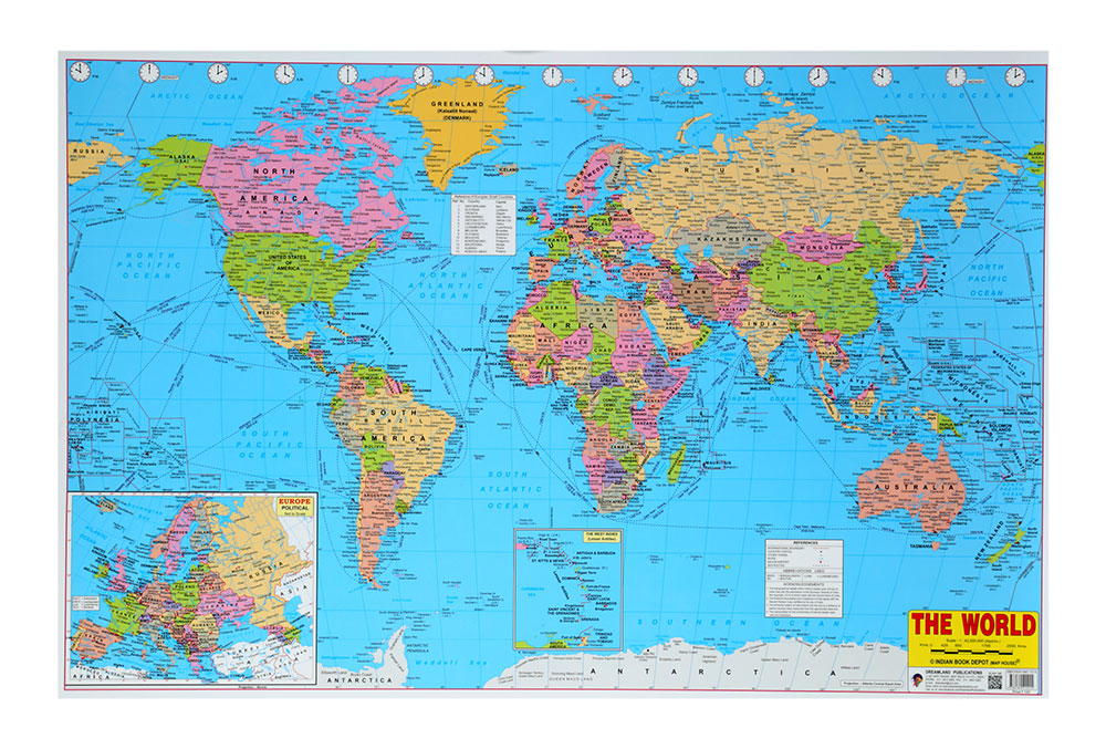 Buy The World Chart Online In India Kheliya Toys