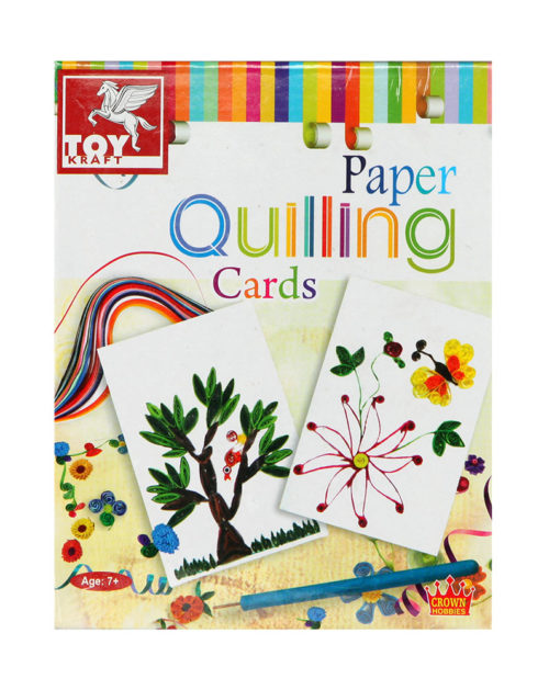 Toy Kraft Cards Paper Quilling