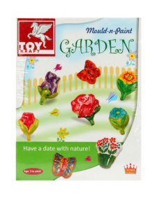 Toy Kraft Garden Mould & Paint