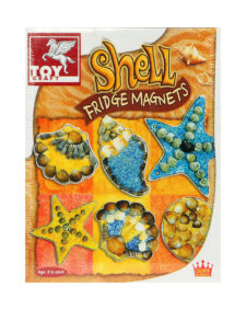 Toy Kraft Shell Fridge Magnet