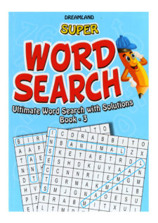 Word Search Book - 3